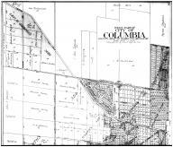 West Part Columbia - above, Boone County 1917